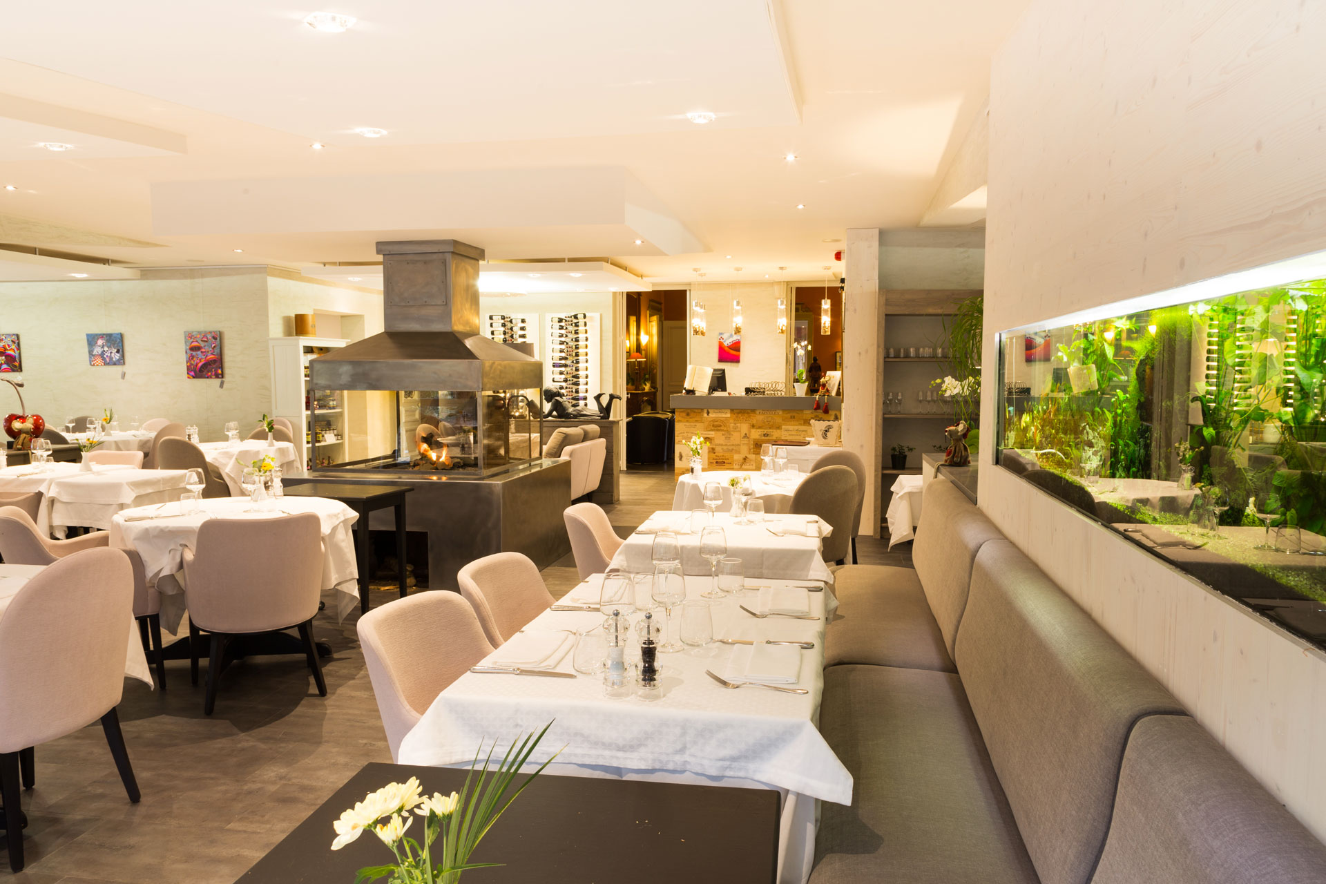 Le Restaurant - La R U00e9sidence